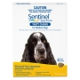 Sentinel (Yellow) for Medium Dogs (24-48lbs) 11 - 22kg 6 Month Pack