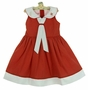NEW Will'Beth Red Dotted Sailor Dress