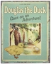 "<img src=""http://site.grammies-attic.com/images/blue-sold-1.gif""> NEW Vintage Style Storybook Sign ""Douglas the Duck"""