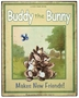 "<img src=""http://site.grammies-attic.com/images/blue-sold-1.gif""> NEW Vintage Style Tin Storybook Sign ""Buddy the Bunny"""