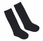 NEW Black Cotton Blend Knee Socks