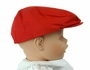NEW Red Cotton Newsboy Hat