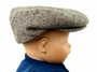 NEW Brown Country Tweed Vintage Style Newsboy Hat