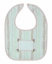 "<img src=""http://site.grammies-attic.com/images/blue-sold-1.gif""> NEW Personalized Rosebud Bib for Baby Girls"