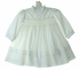 NEW Sarah Louise Ivory Smocked Dress with Pintucks and Seed Pearls