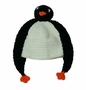 NEW Black and White Knit Penguin Hat for Babies and Toddlers