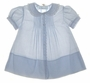 NEW Feltman Brothers Pintucked Dress with Matching Slip in Pink or Blue