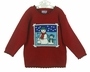 "<img src=""http://site.grammies-attic.com/images/blue-sold-1.gif""> NEW Red Sweater with Snowman Design"