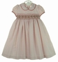 """<img src=""""http://site.grammies-attic.com/images/blue-sold-1.gif""""> NEW Will'Beth Red Dotted Smocked Dress with Red and Green Embroidery"""