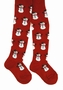 NEW Red and White Snowman Tights