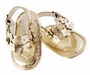 NEW Sarah Louise Leather Sandals in Gold or Silver