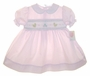 NEW Petit Ami Pink Smocked Dress with Embroidered Ducks
