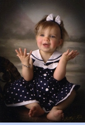 NEW Good Lad Navy Dotted Sleeveless Sailor Dress for Babies (SS0610)