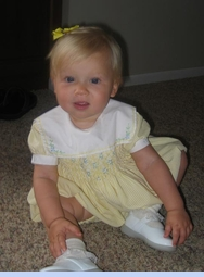 <strong>Baby Ava Renee in Classic Romper</strong>