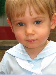 <strong>Baby Garett in C. I. Castro Sailor Suit</strong>