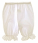 "<img src=""http://site.grammies-attic.com/images/blue-sold-1.gif""> NEW Ecru (Ivory) Pantaloon Style Bloomers with Eyelet Trim for Babies"