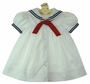 NEW C. I. Castro White Sailor Dress for Toddlers