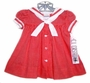 NEW C. I. Castro Red Checked Dress for Baby Girls