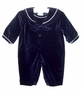 NEW Carriage Boutiques Navy Velvet Sailor Suit