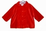 "<img src=""http://site.grammies-attic.com/images/blue-sold-1.gif""> NEW Petit Ami Red Velvet Coat with Matching Hat for Boys"