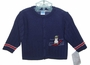 NEW Willbeth Navy Blue Sweater with Penguin Applique