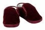NEW Burgundy Velveteen Baby Shoes