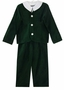 NEW Gordon & Company Green Velvet Eton Suit with Long Pants
