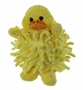 "<img src=""http://site.grammies-attic.com/images/blue-sold-1.gif""> NEW Chenille Yellow Baby Duck Rattle"