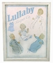 NEW Lullaby Print Framed Picture for Baby Boys