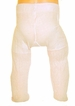NEW Ivory Diamond Rib Pattern Tights for Babies, Toddlers, and Little Girls