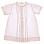 NEW Feltman Brothers Pink Pintucked Daygown with Lace and Embroidery