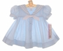 """<img src=""""http://site.grammies-attic.com/images/blue-sold-1.gif""""> NEW C. I. Castro Light Blue Classic Sailor Dress for Toddler Girls"""