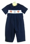NEW Rosalina Navy Smocked Sailor Longall
