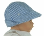 NEW Beaufort  Bucket Hat in Blue Checked Gingham