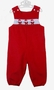"<img src=""http://site.grammies-attic.com/images/blue-sold-1.gif""> NEW Bailey Boys Red Pinwale Corduroy Longall with Santa Embroidery"