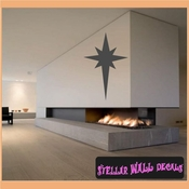 Star Christmas Holiday Vinyl Wall Decal Mural Quotes Words CP034 SWD
