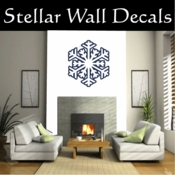 Snowflake Snowflakes Snow Vinyl Wall Decal - Wall Mural - Car Stickers SnowflakesCF8004 SWD