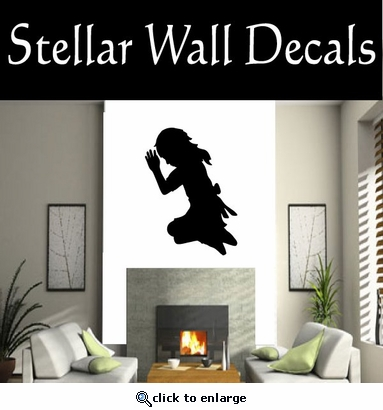 Prayer NS001 Vinyl Decal Wall Art Sticker Mural SWD