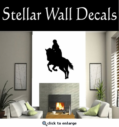 Horse Jumping NS003 Vinyl Decal Wall Art Sticker Mural SWD