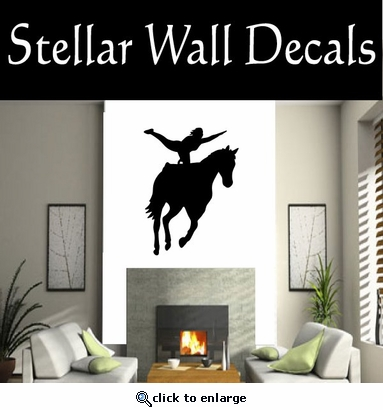 Equastrianvaulting NS003 Vinyl Decal Wall Art Sticker Mural