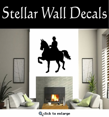 Equastrianvaulting NS005 Vinyl Decal Wall Art Sticker Mural SWD