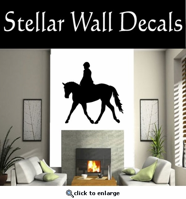 Show Horse NS002 Vinyl Decal Wall Art Sticker Mural SWD