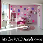 72 Star Stars Vinyl Wall Decal Stickers Kit SWD