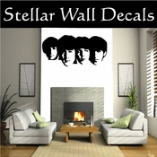 Beatles 10 Band Music Wall Vinyl Decal Sticker SWD