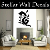 DRAGON DRAGONS VINYL WALL DECAL STICKERS DragonCF12054 SWD