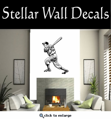 Baseball Throwing Hitting Pitching Batting Catching Sliding Swinging CDS002 Sport Sports Wall or Car Vinyl Decal Sticker Mural