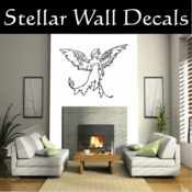 Angel Angels Heaven Wall Vinyl Decal Sticker Angelscf23003 SWD
