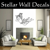 Angel Angels Heaven Wall Vinyl Decal Sticker Angelscf23004 SWD