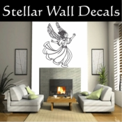Angel Angels Heaven Wall Vinyl Decal Sticker Angelscf23005 SWD
