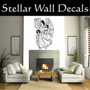 Angel Angels Heaven Wall Vinyl Decal Sticker Angelscf23008 SWD